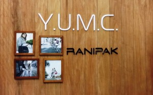 YUMC booth wall